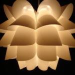 En pendel lampe er en del af det almene hjem